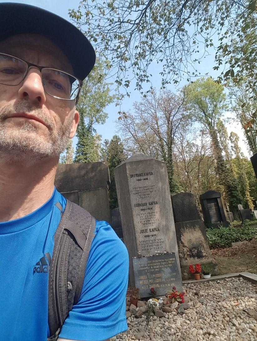 Selfie an Kafkas Grab